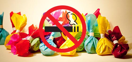 """""""Міняю цигарку на цукерку"""": франківців закликали кинути палити (ФОТОФАКТ)"""