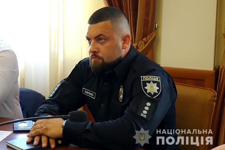 В поліції області – новий начальник управління превентивної діяльності (ФОТО)