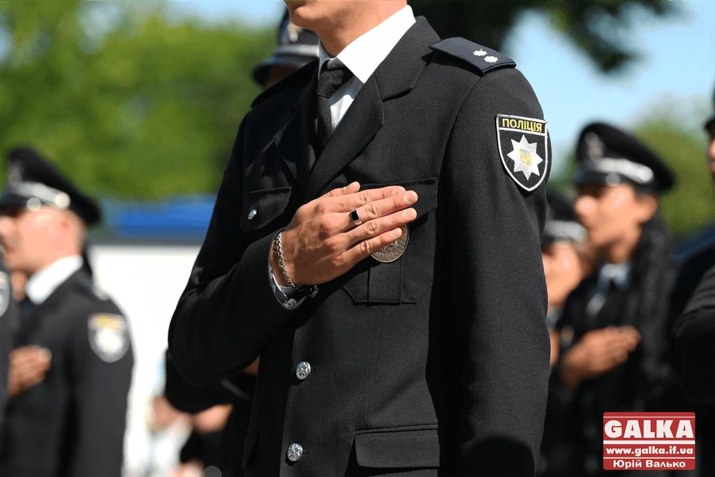 Прикарпатські поліціянти привітали громаду патріотичним роликом (ВІДЕО)