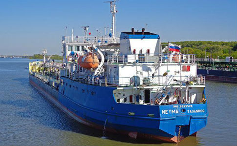 СБУ затримала танкер, яким Росія блокувала українські кораблі біля Керчі (ВІДЕО)