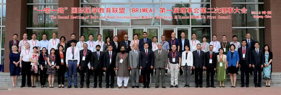 Міжнародні зв'язки. Представник ІФНМУ взяв участь у медичному форумі в Китаї (ФОТО)
