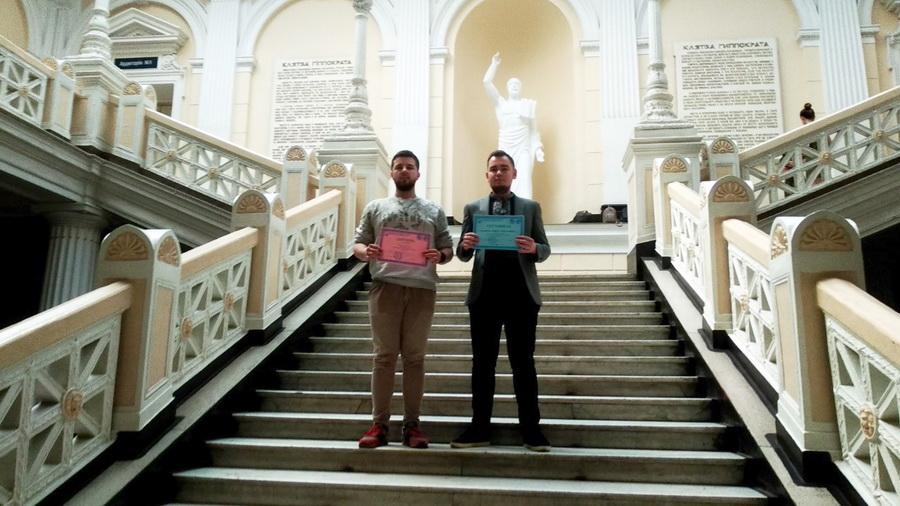 Студенти франківського вишу відзначилися на Всеукраїнській олімпіаді з фізіології (ФОТО)