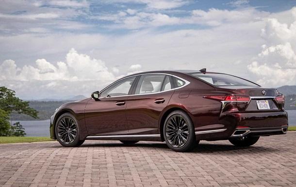 Lexus випустить лімітовану версію седана LS 500 (ФОТО)