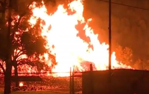 У США згоріли дев'ять мільйонів літрів віскі (ВІДЕО)