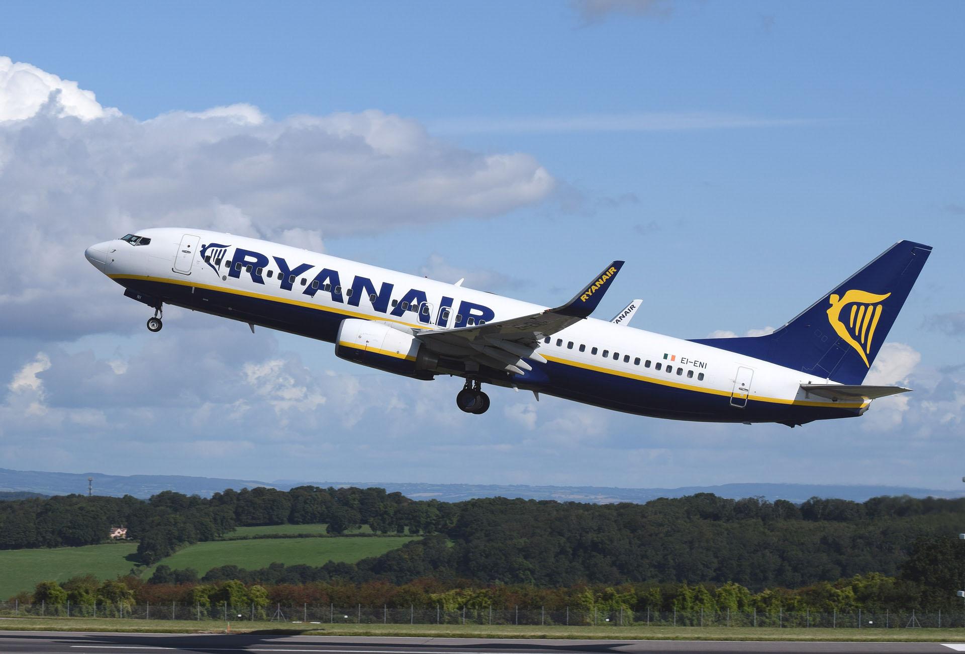 Ryanair пропонує злітати за 10 євро зі Львова у міста Європи