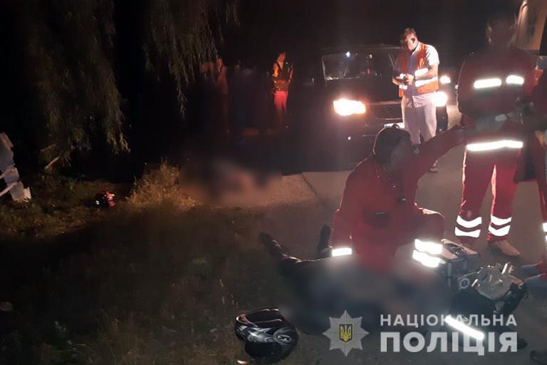 В Івано-Франківській області на смерть розбився мотоцикліст