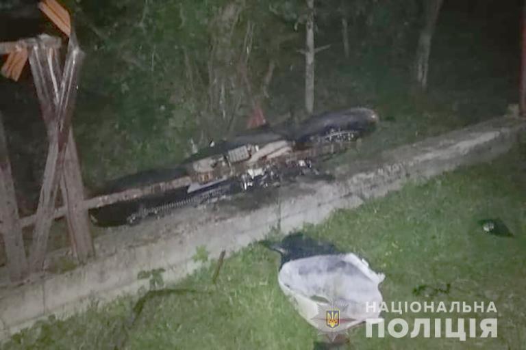 Медикам не вдалося врятувати мотоцикліста, в якого на Богородчанщині врізався легковик (ФОТО)