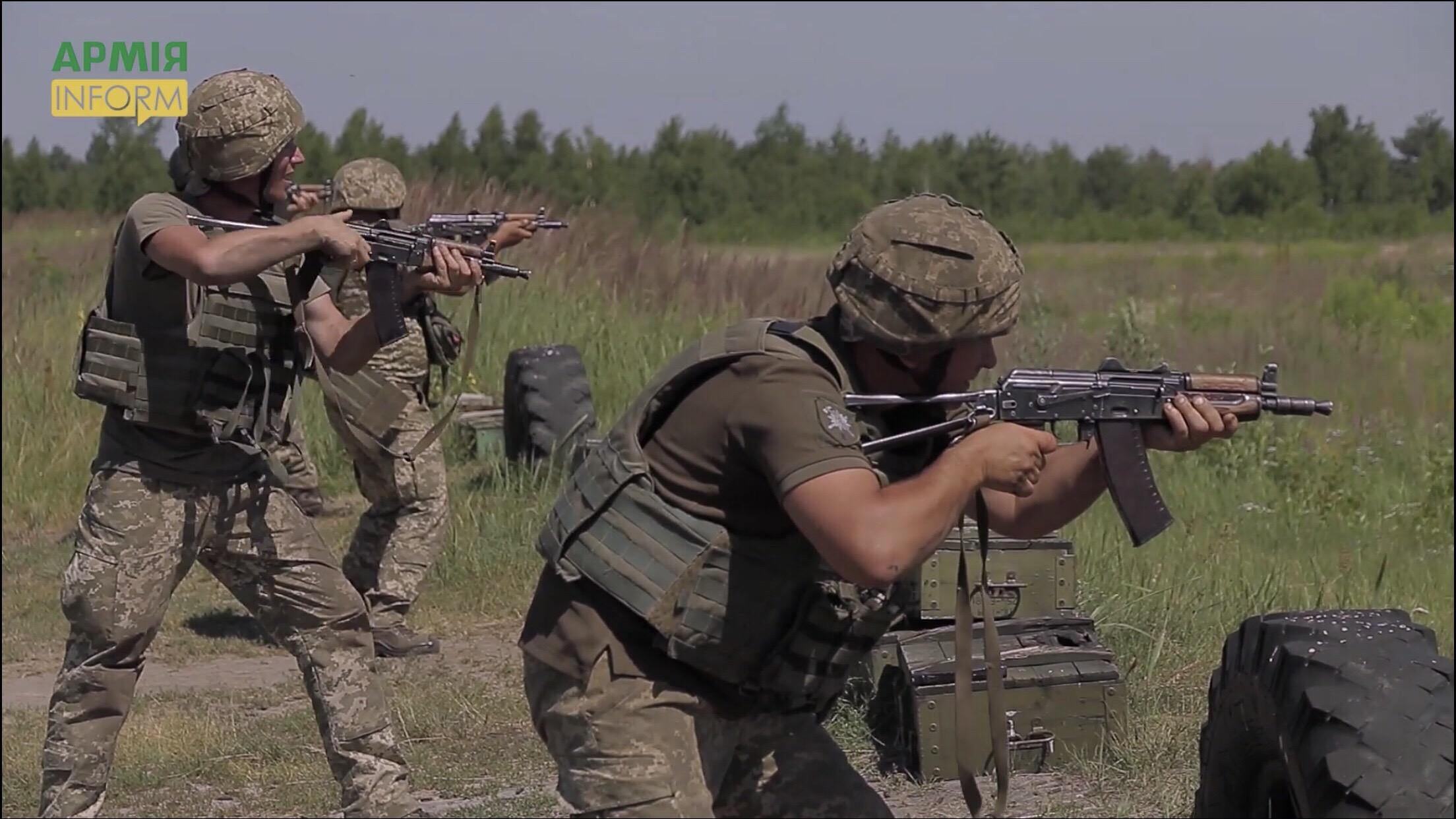 """""""ORBITAL"""": військові інструктори Великобританії навчають гірських штурмовиків (ВІДЕО)"""
