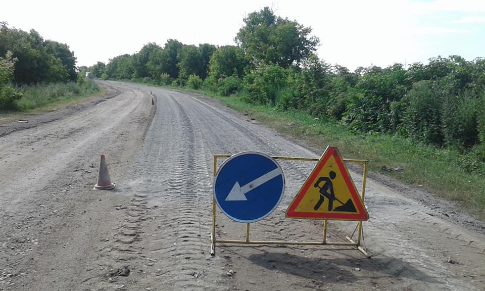 На Городенківщині триває ремонт автошляху державного значення (ФОТО)