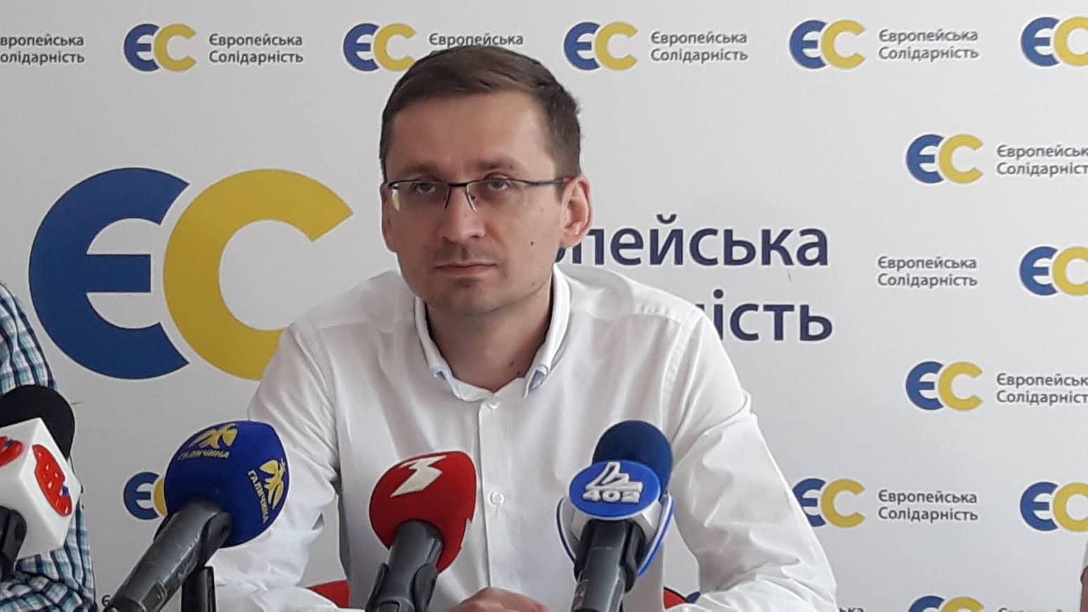 У Франківську запустили флеш-моб на підтримку кандидата Петечела