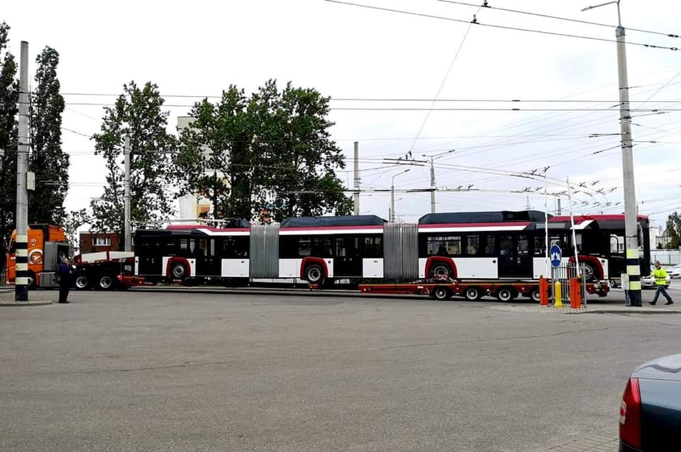 """До кінця літа на вулиці Франківська виїдуть п'ять тролейбусів """"Вольво"""""""