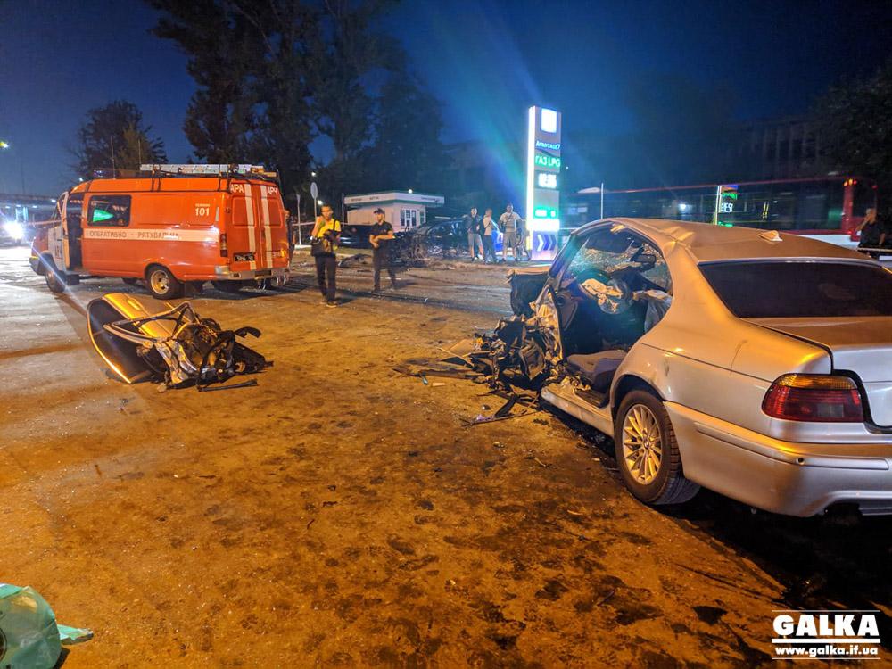 Масштабна ДТП у Пасічній: винуватець аварії був напідпитку