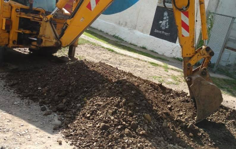 На Сахарова відновили ремонт двору