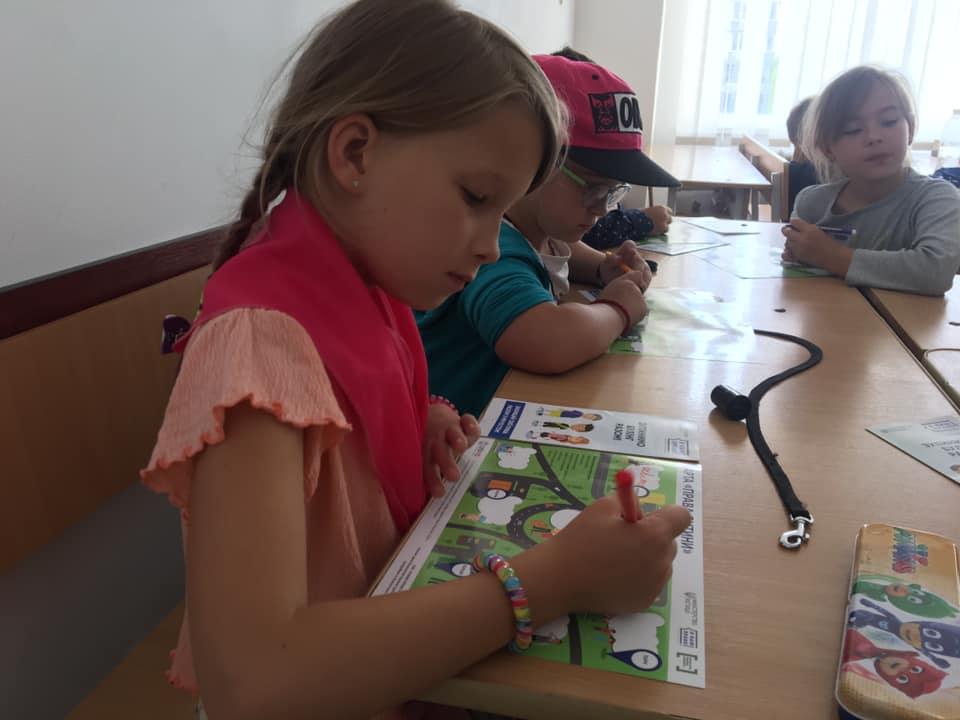 Діткам літньої школи у Франківську розповіли про булінг, та як з ним боротись (ФОТО)