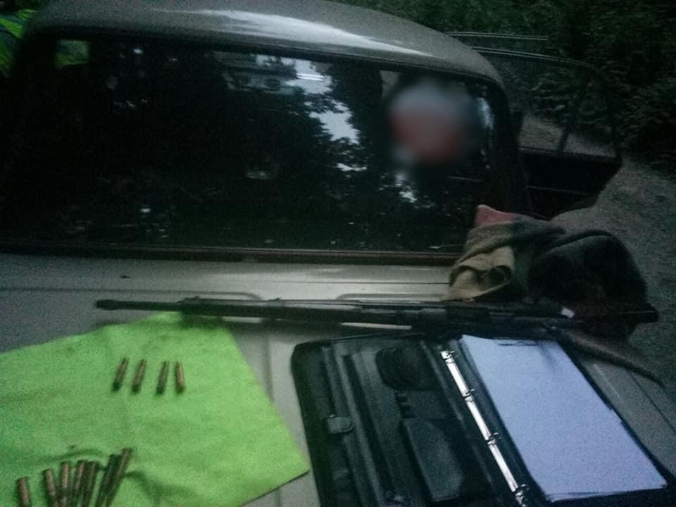 60-річний косівчанин влаштував стрілянину з карабіну (ФОТО)