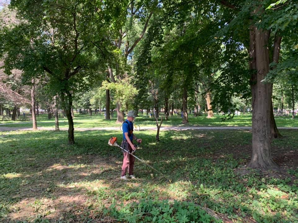 Парк Військових ветеранів має нового утримувача (ФОТО)