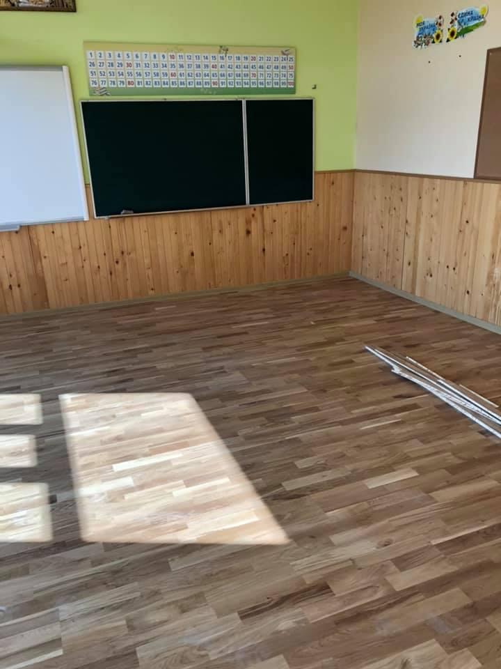Сучасно і комфортно: у школі в Вовчинцях триває капремонт (ФОТО)