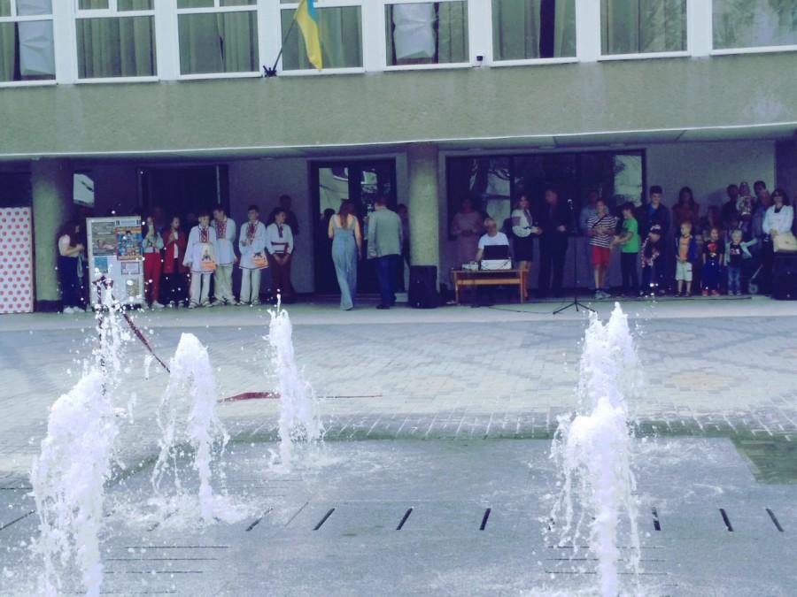 У Калуші запустили пішохідний фонтан (ВІДЕО)