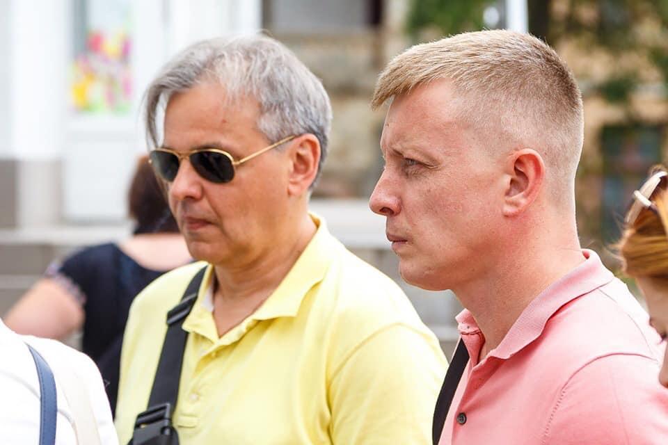 Журналіст Рахманін приїхав на Прикарпаття підтримати кандидата Тищенка (ФОТО)