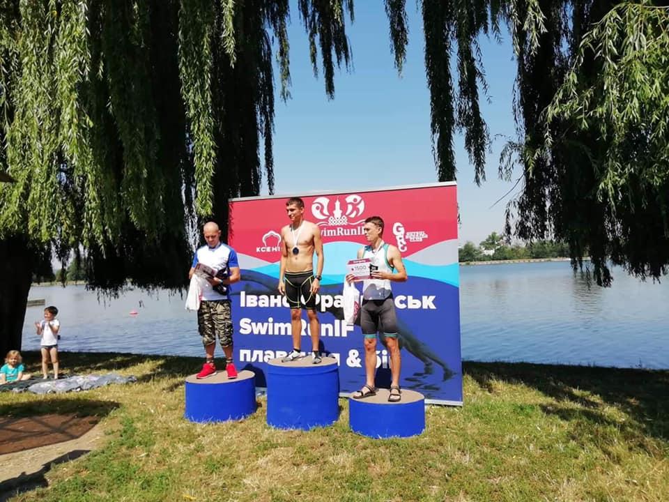 На міському озері відбулися аматорські змагання з плавання та бігу «SwimRunIF» (ФОТО)