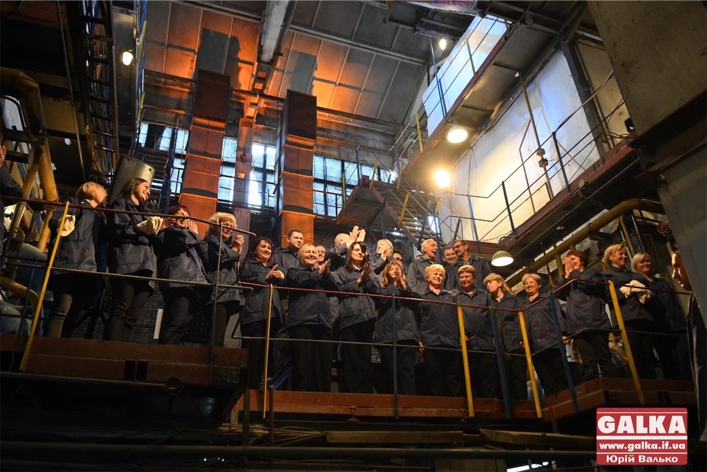 Співи у котельні – в Івано-Франківську провели незвичний музичний перформанс (ФОТО, ВІДЕО)