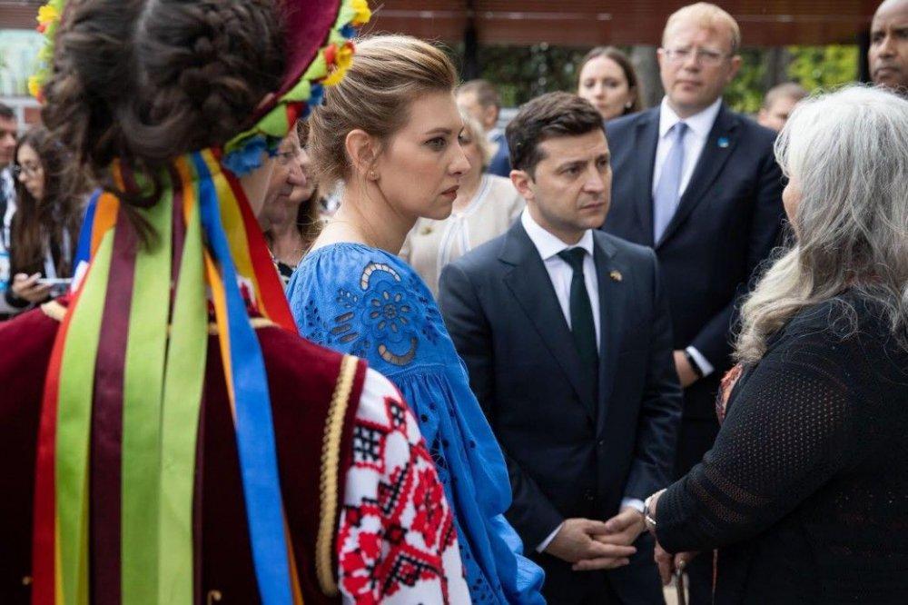 Перша леді Олена Зеленська порушила президентський етикет (ФОТО)