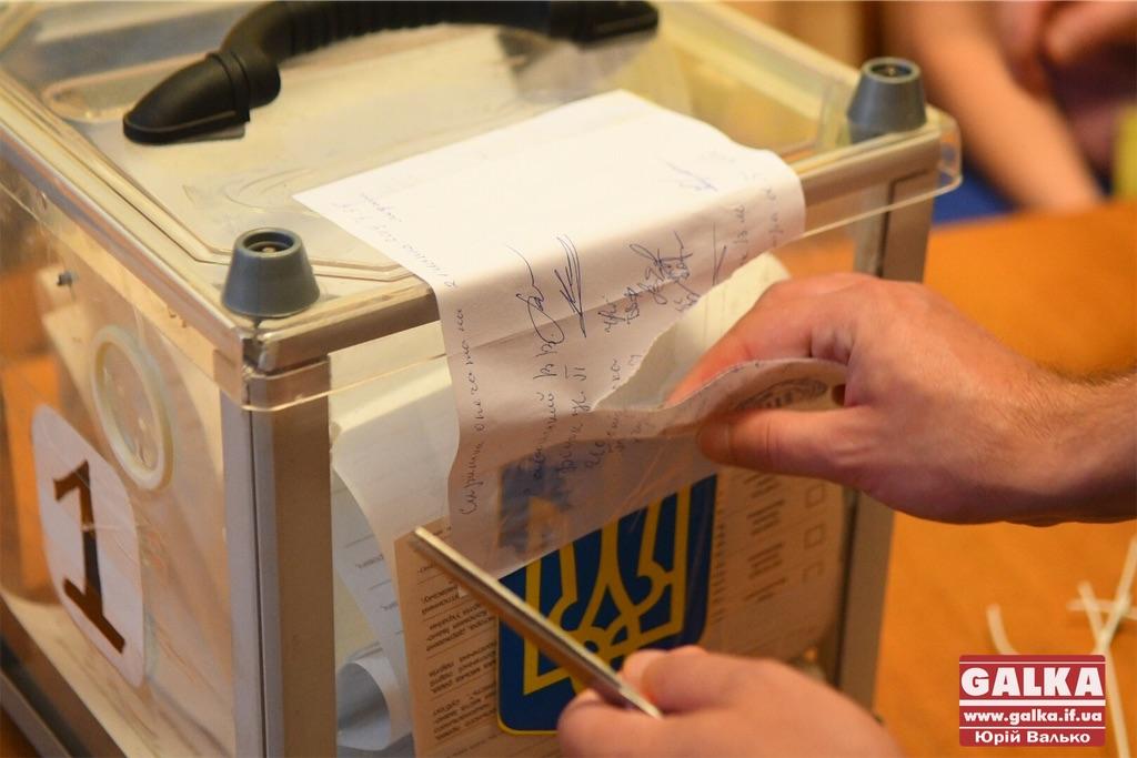 ЦВК утворила та сформувала склад територіальних виборчих комісій Прикарпаття