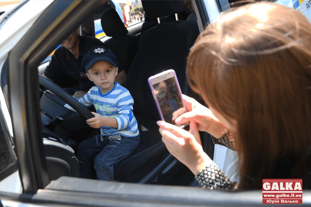 У центрі міста поліція влаштувала свято для дітлахів (ФОТО)