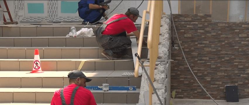 У міському перинатальному центрі на завершальному етапі ремонтні роботи (ВІДЕО)