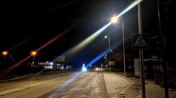 На Надрічній встановили сучасне вуличне освітлення (ФОТОФАКТ)