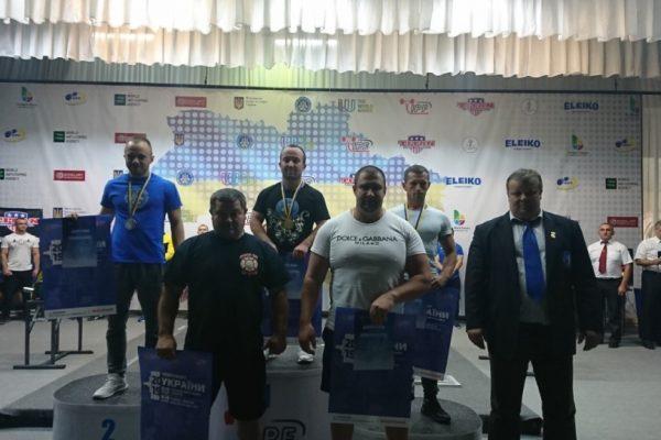 Прикарпатці вибороли золото на Чемпіонаті України з класичного жиму лежачи (ФОТО)