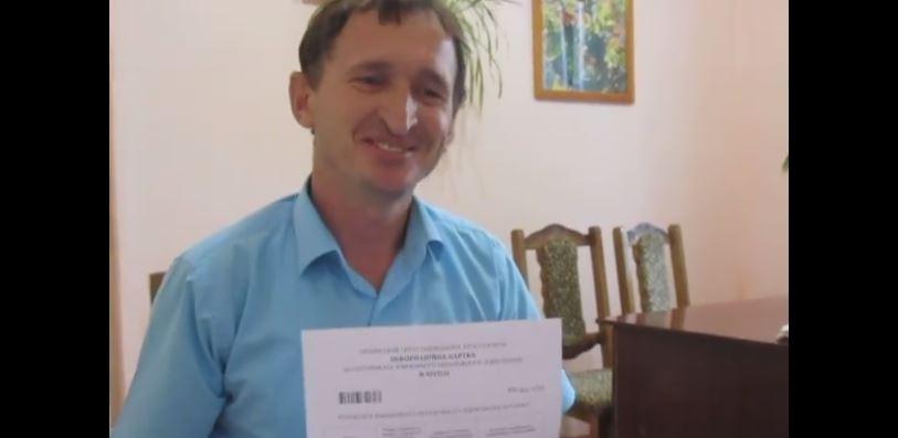 Сільський голова з Городенківщини склав ЗНО і отримав відмінний результат з хімії (ВІДЕО)
