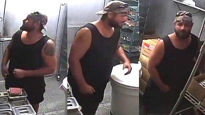 У Флориді голодний злодій вломився в ресторан і приготував собі бургер (ФОТО)