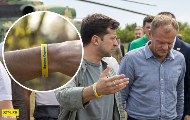 Розкрита таємниця Зеленського: що означають браслети на руках президента (ФОТО)