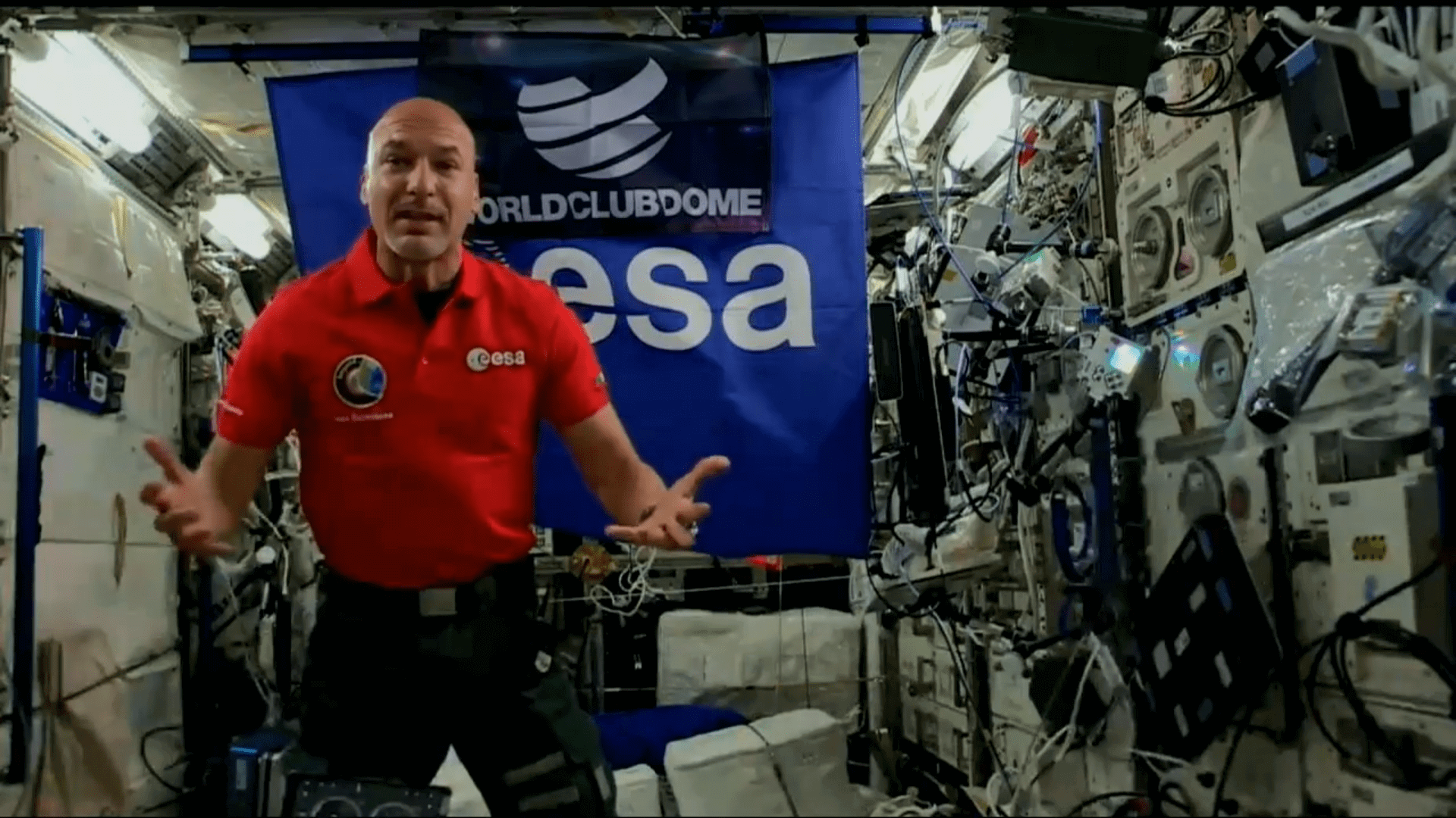 Італійський космонавт став першим космічним діджеєм (ВІДЕО)