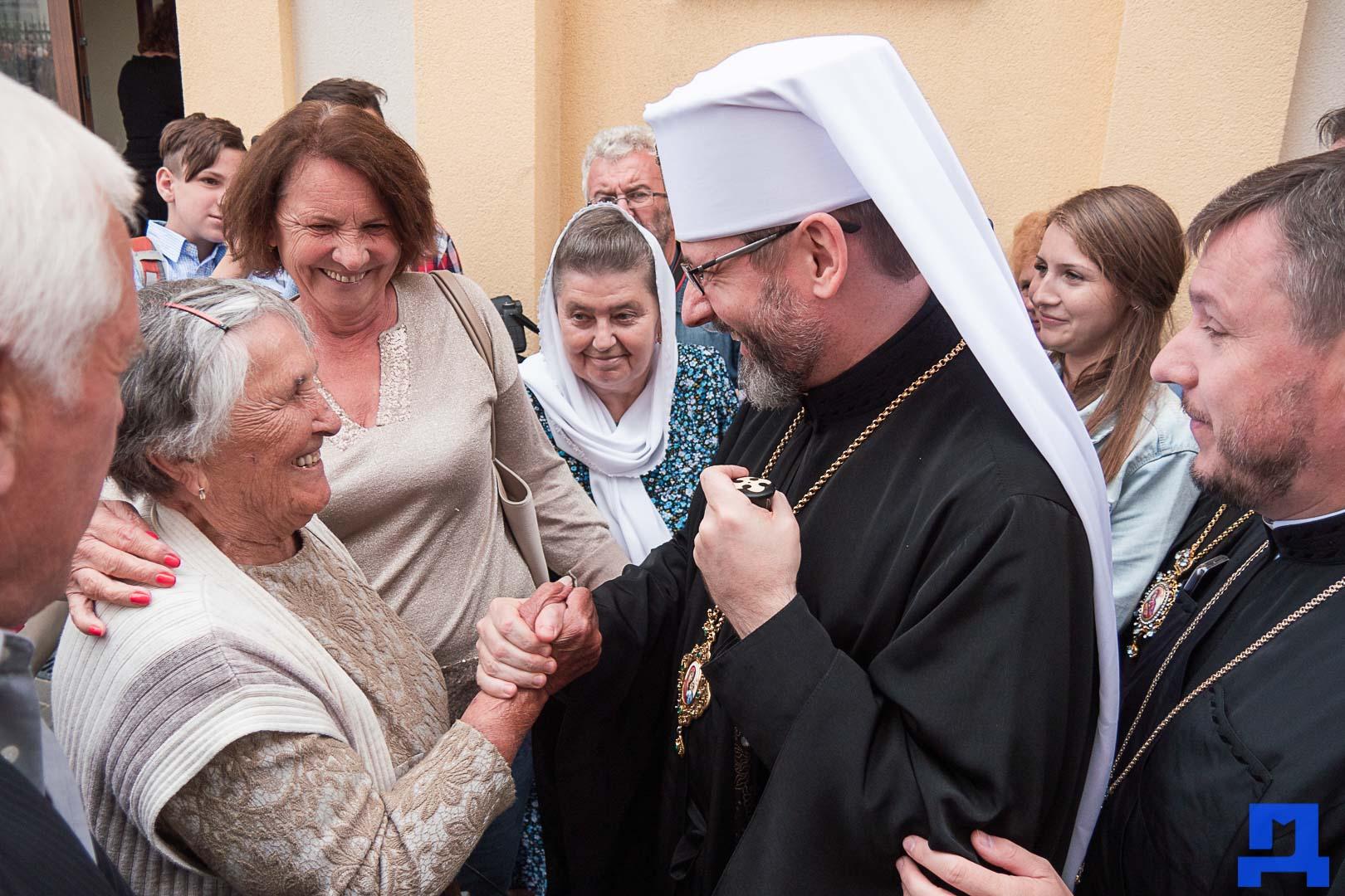 Глава УГКЦ освятив у Коломиї унікальну дзвіницю (ФОТО)