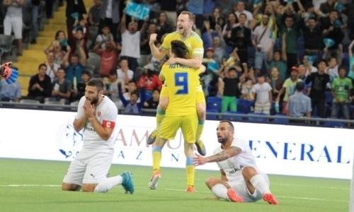 """Казахстанська """"Астана"""" під керівництвом прикарпатця розгромила мальтійців у Лізі Європи"""