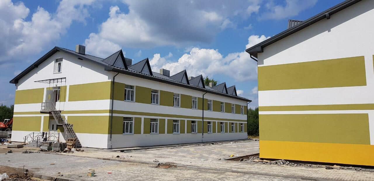 У Крихівцях завершують будівництво гуртожитків для військових (ФОТО)
