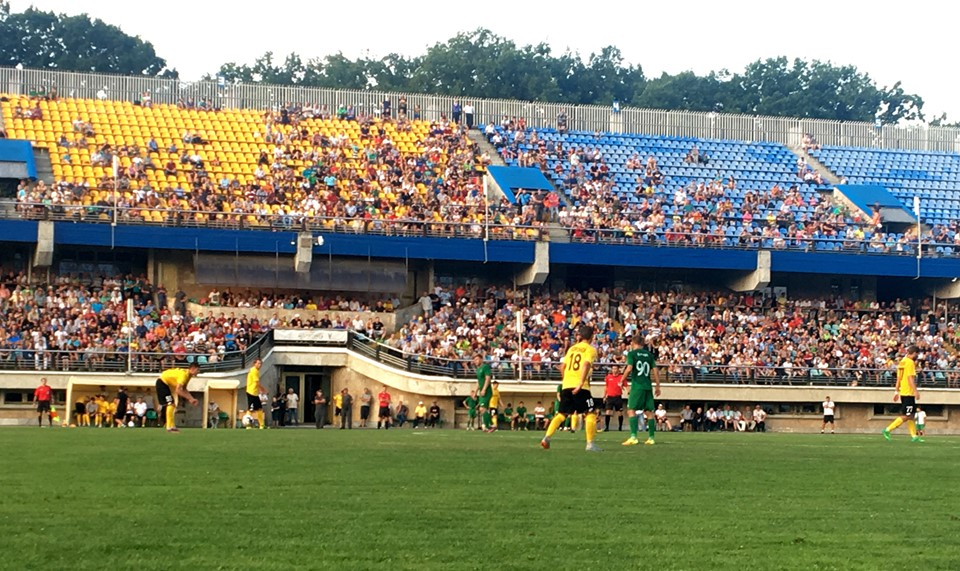 """Понад чотири тисячі вболівальників відвідали домашній матч """"Прикарпаття – Авангард"""""""