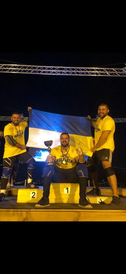 Стронґмени з Прикарпаття вперше перемогли на змаганнях за межами України (ФОТО, ВІДЕО)
