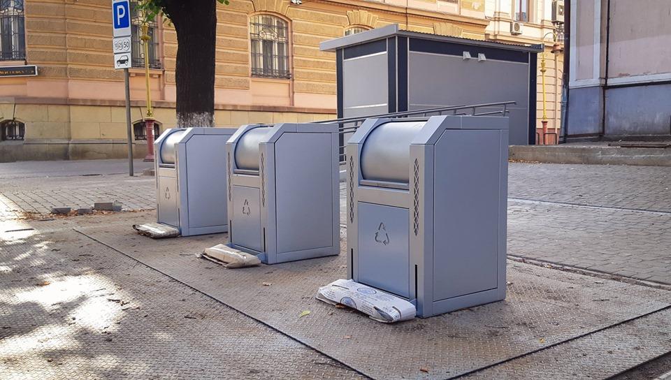 Перший підземний смітник незабаром запрацює у Франківську (ФОТО)