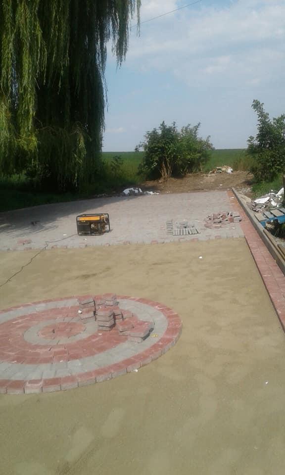 Майданчик для відпочинку водіїв облаштовують на Городенківщині (ФОТО)