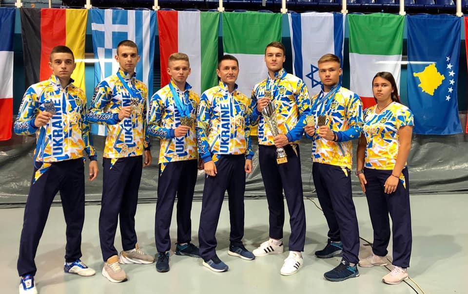 Франківські спортсмени вибороли нагороди Європейської універсіади з єдиноборств (ФОТО)
