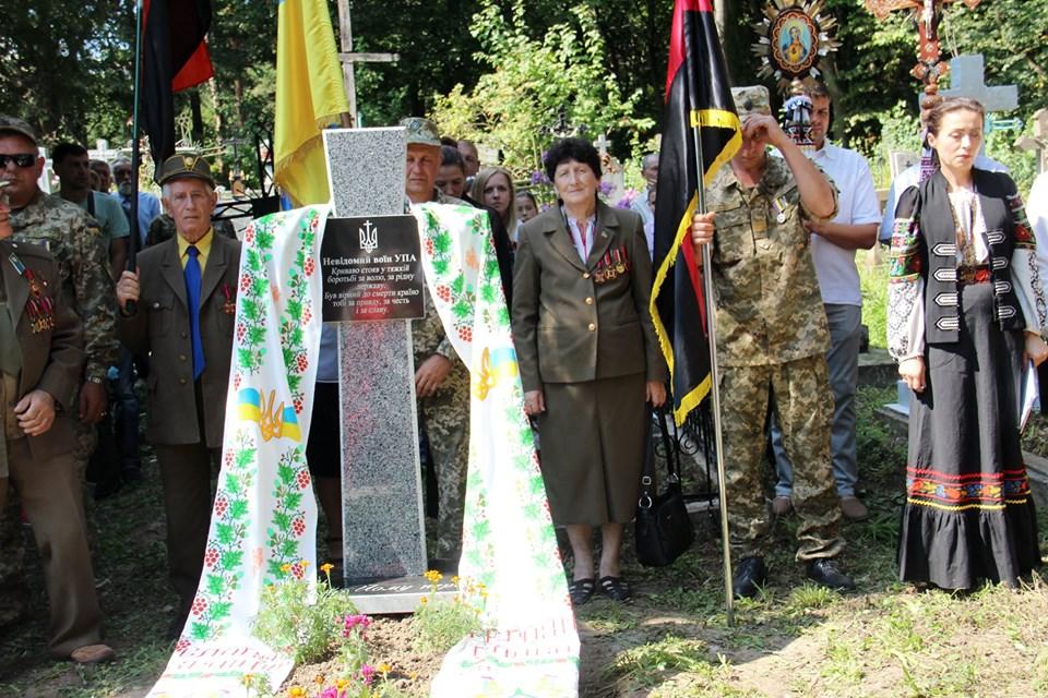 У Галицькому районі небайдужі відновили пам'ятники воїнам УПА (ФОТО)