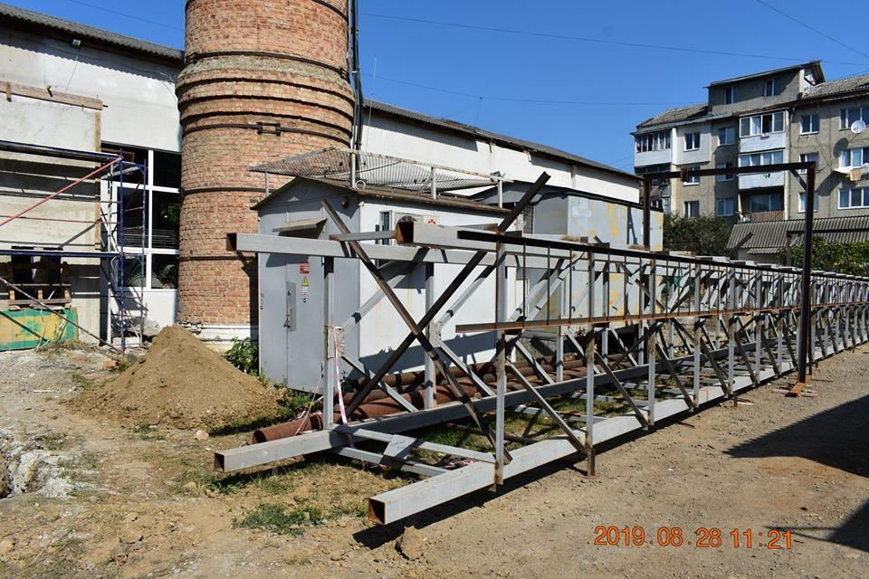 Як триває реконструкція котельні на Довгій (ФОТОФАКТ)