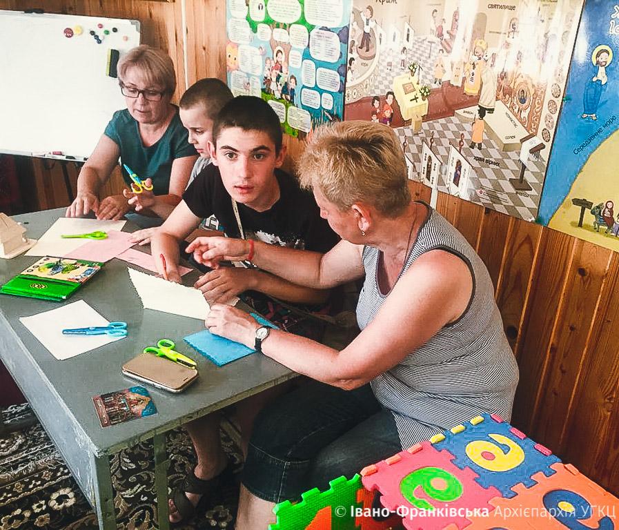 В Івано-Франківську розпочався табір для особливих діток (ФОТО,ВІДЕО)