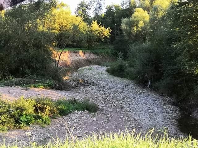 Колись плавали на конях: в Середньому Угринові зникла річка (ФОТО)