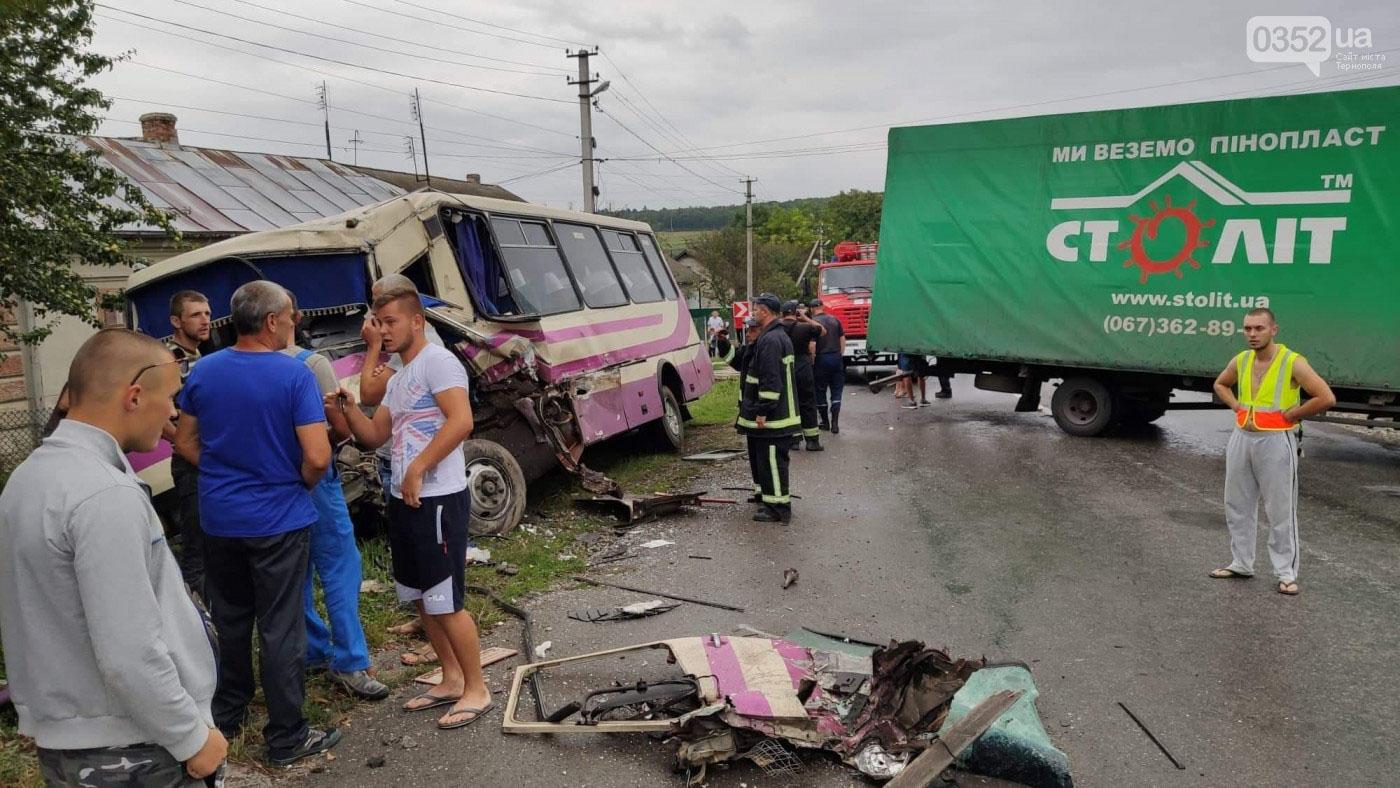 """Автобус """"Вінниця-Яремче"""" втрапив у ДТП на Тернопільщині, є травмовані (ФОТО, ВІДЕО)"""