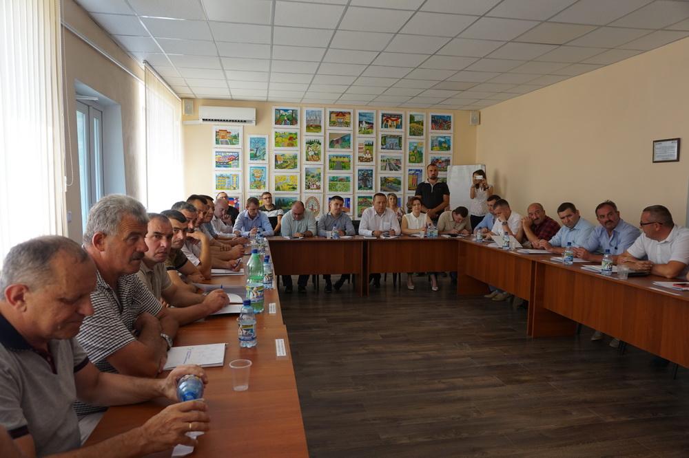 Голови Прикарпатських ОТГ зустрілись із новообраними депутатами Верховної Ради (ФОТО)