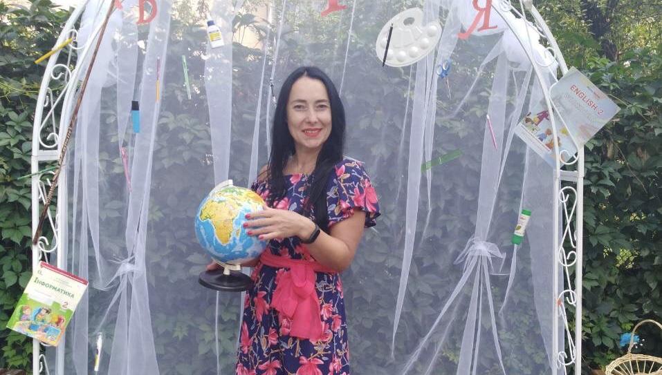 Франківська вчителька єдина з області увійшла в ТОП-50 премії Global Teacher Prize Ukraine